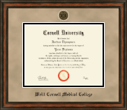 Cornell University Diploma Frame - Heirloom Edition Diploma Frame in Ashford