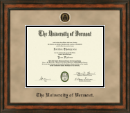 The University of Vermont Diploma Frame - Heirloom Edition Diploma Frame in Ashford