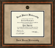 Lock Haven University Diploma Frame - Heirloom Edition Diploma Frame in Ashford