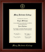 Mary Baldwin College Diploma Frame - Gold Embossed Diploma Frame in Cambridge