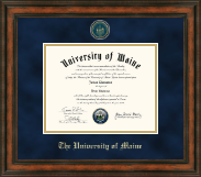 The University of Maine Orono Diploma Frame - Heirloom Edition Diploma Frame in Ashford