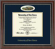 University of New Haven Diploma Frame - Campus Cameo Diploma Frame in Chateau