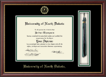 University of North Dakota Diploma Frame - Tassel Edition Diploma Frame in Newport