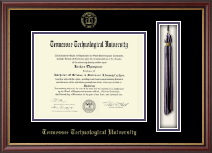 Tennessee Technological University Diploma Frame - Tassel Edition Diploma Frame in Newport