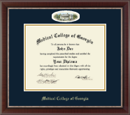 Medical College of Georgia Diploma Frame - Campus Cameo Diploma Frame in Chateau