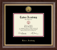 Tabor Academy Diploma Frame - Gold Engraved Diploma Frame in Hampshire