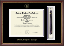 Saint Michael's College Diploma Frame - Tassel Edition Diploma Frame in Newport