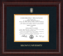 Brown University Diploma Frame - Presidential Masterpiece Diploma Frame in Premier