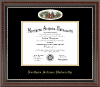 Northern Arizona University Diploma Frame - Campus Cameo Diploma Frame in Chateau