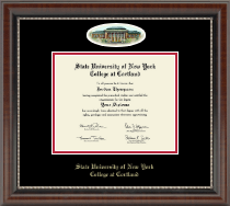 State University of New York Cortland Diploma Frame - Campus Cameo Diploma Frame in Chateau