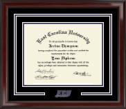 East Carolina University Diploma Frame - Spirit Logo Diploma Frame in Encore