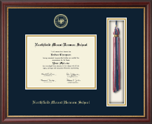 Northfield Mount Hermon School Diploma Frame - Tassel Edition Diploma Frame in Newport