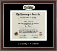 University of Louisville Diploma Frame - Campus Cameo Diploma Frame in Chateau