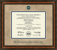 Pennsylvania State University Diploma Frame - Heirloom Edition Diploma Frame in Ashford