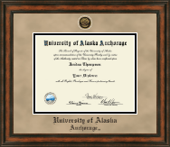 University of Alaska Anchorage Diploma Frame - Heirloom Edition Diploma Frame in Ashford