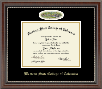Western State College of Colorado Diploma Frame - Campus Cameo Diploma Frame in Chateau