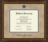 DeSales University Diploma Frame - Heirloom Edition Diploma Frame in Ashford