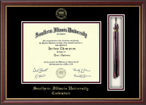 Southern Illinois University Carbondale Diploma Frame - Tassel Edition Diploma Frame in Newport