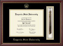 Emporia State University Diploma Frame - Tassel Edition Diploma Frame in Newport