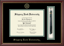 Slippery Rock University Diploma Frame - Tassel Edition Diploma Frame in Newport