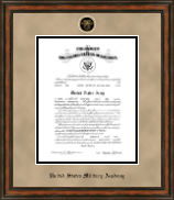United States Military Academy Certificate Frame - Heirloom Edition Commission Certificate Frame in Ashford
