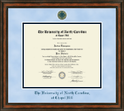 University of North Carolina Chapel Hill Diploma Frame - Heirloom Edition Diploma Frame in Ashford