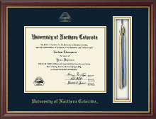 University of Northern Colorado Diploma Frame - Tassel Edition Diploma Frame in Newport