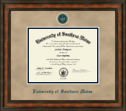 University of Southern Maine Diploma Frame - Heirloom Edition Diploma Frame in Ashford