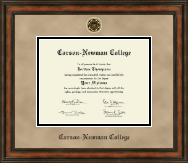 Carson-Newman College Diploma Frame - Heirloom Edition Diploma Frame in Ashford