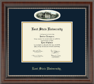 Kent State University Diploma Frame - Campus Cameo Diploma Frame in Chateau