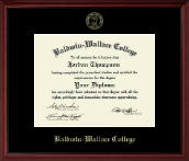 Baldwin-Wallace College Diploma Frame - Gold Embossed Diploma Frame in Camby