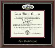Anna Maria College Diploma Frame - Campus Cameo Diploma Frame in Chateau