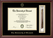 The University of Vermont Diploma Frame - Tassel Edition Diploma Frame in Newport