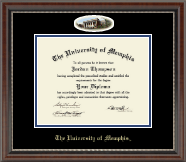The University of Memphis Diploma Frame - Campus Cameo Diploma Frame in Chateau