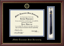 Middle Tennessee State University Diploma Frame - Tassel Edition Diploma Frame in Newport