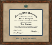 Murray State University Diploma Frame - Heirloom Edition Diploma Frame in Ashford