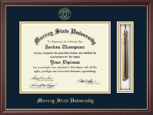 Murray State University Diploma Frame - Tassel Edition Diploma Frame in Newport