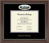 Converse College Diploma Frame - Campus Cameo Diploma Frame in Chateau