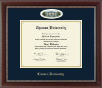 Chowan University Diploma Frame - Campus Cameo Diploma Frame in Chateau