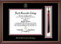 North Greenville University Diploma Frame - Tassel Diploma Frame in Newport