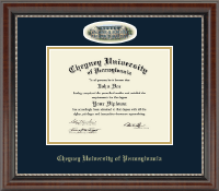 Cheyney University Diploma Frame - Campus Cameo Diploma Frame in Chateau