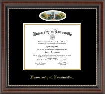 University of Evansville Diploma Frame - Campus Cameo Diploma Frame in Chateau