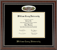 William Carey University Diploma Frame - Campus Cameo Diploma Frame in Chateau