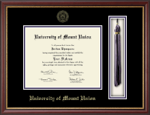 University of Mount Union Diploma Frame - Tassel Edition Diploma Frame in Newport