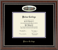 Paine College Diploma Frame - Campus Cameo Diploma Frame in Chateau