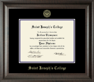 Saint Joseph's College in Indiana Diploma Frame - Gold Embossed Diploma Frame in Acadia