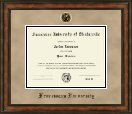 Franciscan University of Steubenville Diploma Frame - Heirloom Edition Diploma Frame in Ashford