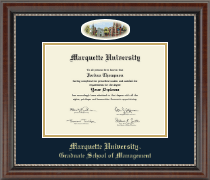 Marquette University Diploma Frame - Campus Cameo Diploma Frame in Chateau