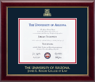 The University of Arizona Diploma Frame - Gold Embossed Diploma Frame in Gallery