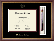 Westmont College Diploma Frame - Tassel Edition Diploma Frame in Newport